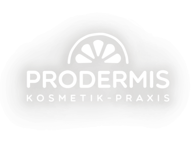 Logo  Prodermis negativ